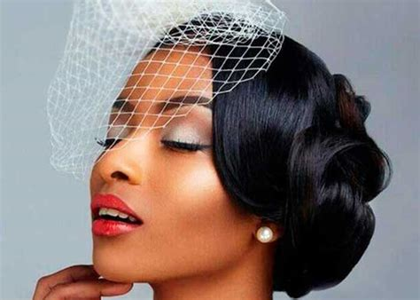 Hairstyle For Black Wedding by 43 Black Wedding Hairstyles For Black