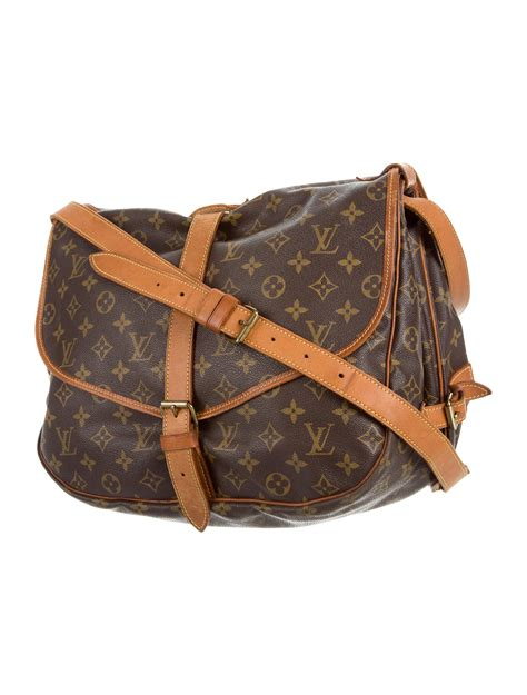 louis vuitton monogram saumur  bag bags lou