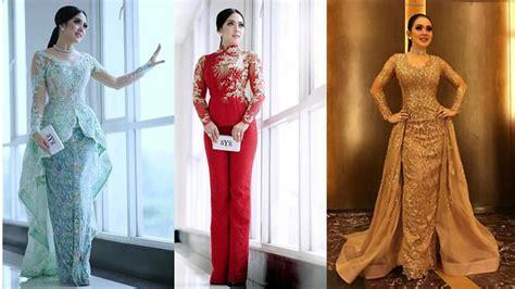 Dress Gaun Kebaya Syahrini www kebaya ala syahrini 25 inspirasi model kebaya dress