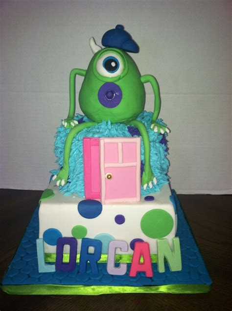 Baby Monsters Inc Baby Shower by Monsters Inc Baby Shower Cake Cakecentral