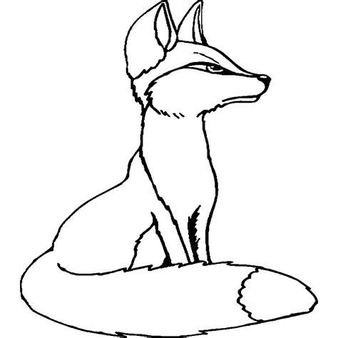 imagenes para colorear dibujos para colorear dibujos de zorros para imprimir