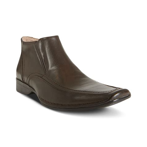 madden boots steve madden rhode chukka boots in brown for lyst