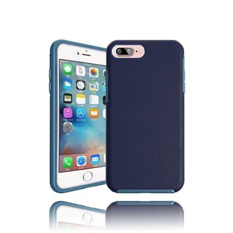 wholesale iphone   hard gummy hybrid case navy blue