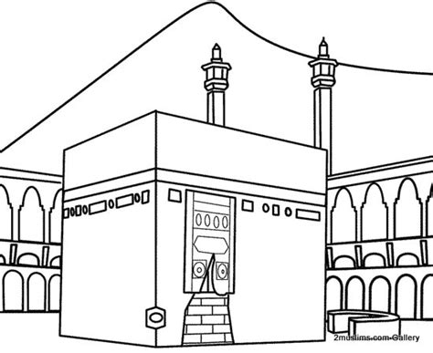 printable pictures kaaba al kaaba coluring pages colouring pages kaaf quot ك quot kabba