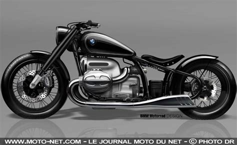 preparations moto concept moto  le bobber facon bmw