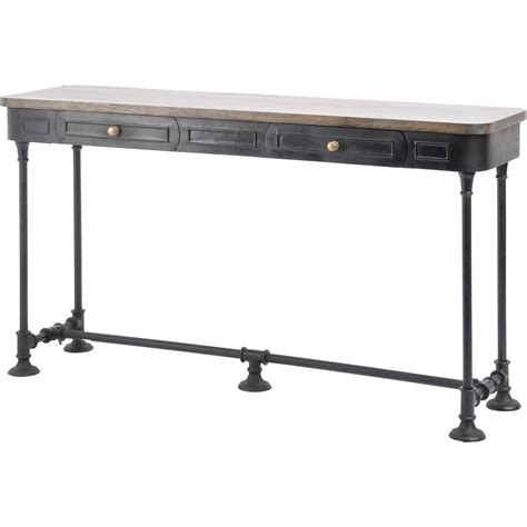 Long Black Console Table Furniture Old And Vintage Longest Black Sofa Tables