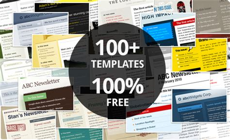 free html email template 100 free email marketing templates caign monitor