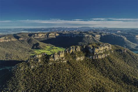 blue mountains nsw gems of the blue mountains revealed in new aerial