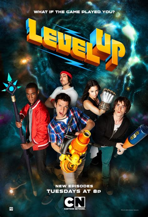 film level up cartoon network level up ooh caign on behance