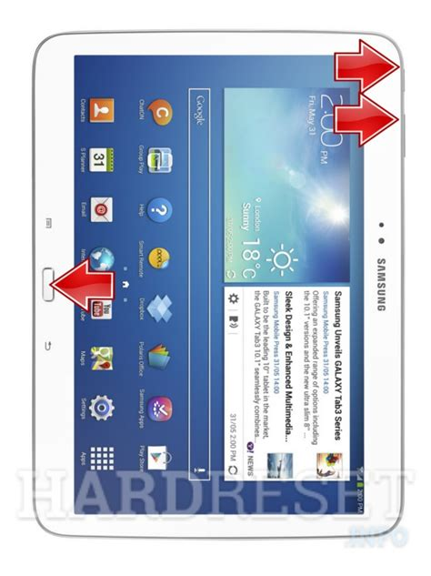 reset in samsung tablet samsung p5200 galaxy tab 3 10 1 3g recovery mode