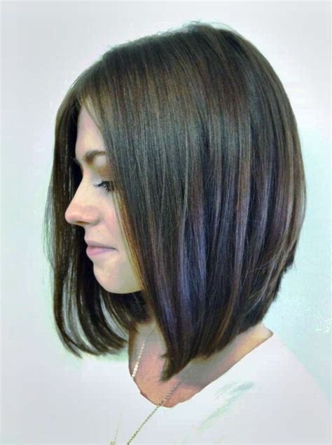 invertedbob for women in there 50s 10 short hairstyles for women over 50 long angled bob