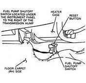 Ford F 250 Questions  Where Is The Emergency Fuel Shut Off Sensor