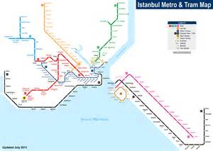 Istanbul Metro Map by Istanbul Metro Seacitymaps Com