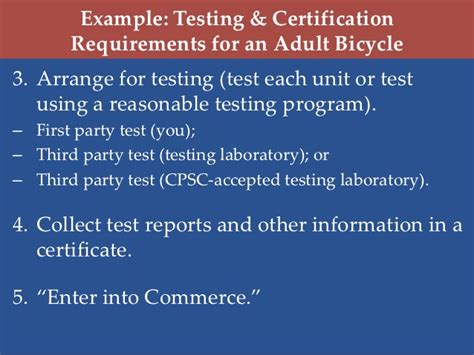 Requirements For Tester by Profeco Pro Consumer Week Requirements For Children S Products And C