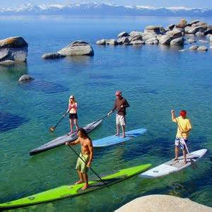 north lake tahoe paddle boat rentals paddle boarding tours long lake tahoe s north shore