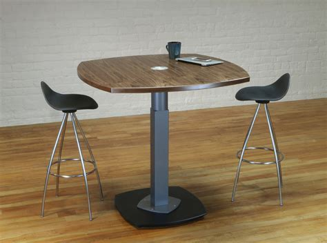 Standing Meeting Table Tangent Standing Meeting Table Stoneline Designs