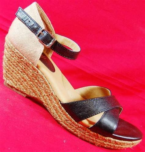 1 inch wedge dress shoes s sofft mara leather black wedge heels sandals fashion dress shoes new ebay