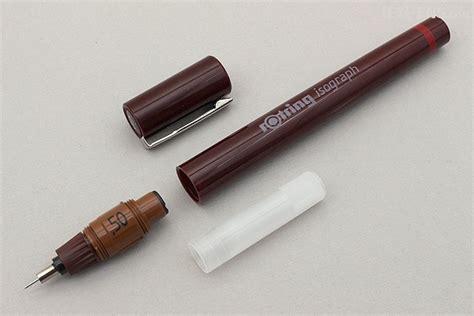 rotring rapido isograph pen 0 1 mm rotring isograph pen 0 5 mm jetpens