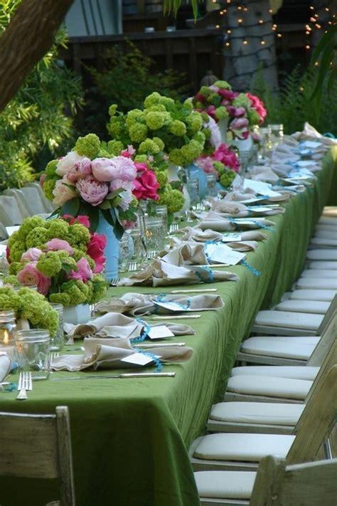 decorations de table d 233 couvrir la d 233 coration de table anniversaire en 50 images