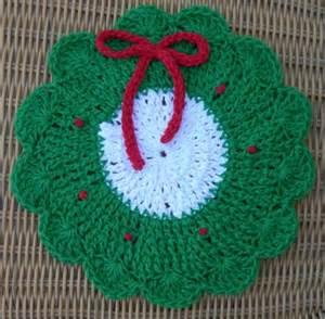 Christmas dishcloth pattern crochet