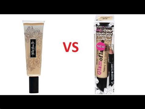 kat von d tattoo concealer vs hard candy glamoflauge