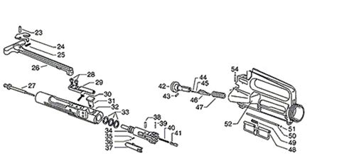 ar 15 parts diagram lower receiver ar 15 receiver parts diagram wiring diagrams