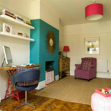 Bedroom Layout Chimney Breast Living Room Fireplace Eclectic 1920s Home House Tour