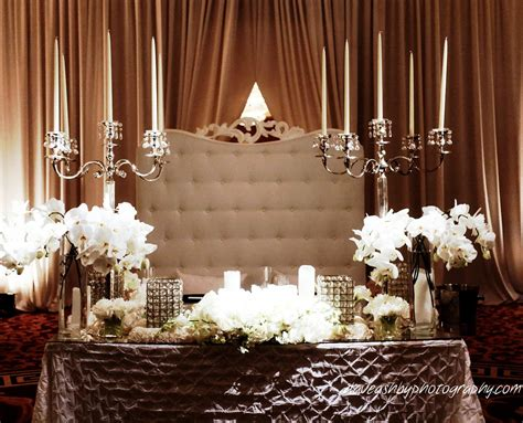 bride and groom table real stories wendy danny part 2 a glamorous wedding