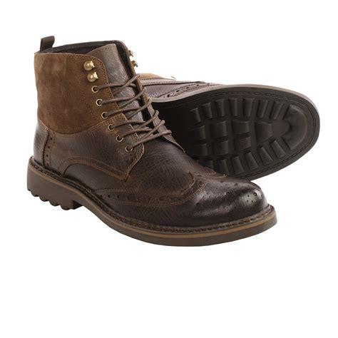 robert wayne boots robert wayne lino wingtip boots for save 56