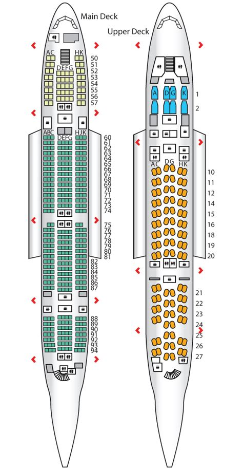 qantas a380 800 seating chart a380 800 seating images