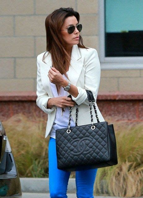Longoria In Chanel by 10 Who Fully Indulge In Their Chanel Obsession