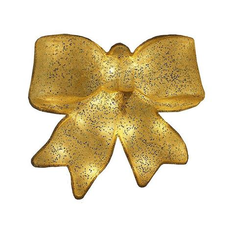 battery operated lighted 15 quot glittering christmas bow