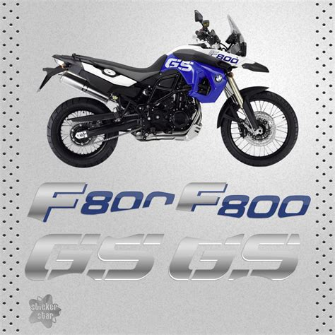 Sticker Bmw 800 Gs by Sticker Bmw F 800 Gs Trophy Bike Pegatina Vinyl Decal
