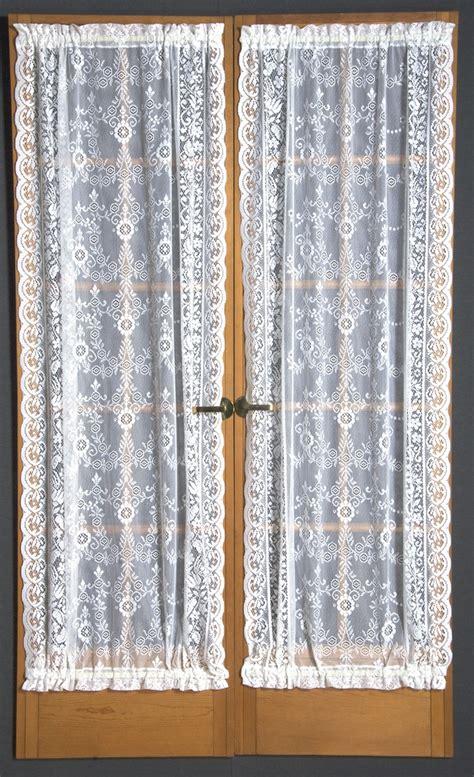 lace door curtains windsor lace door panel