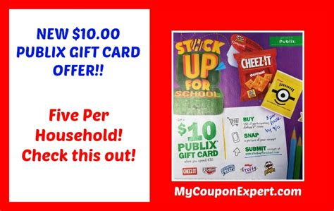 Check Publix Gift Card - new publix 10 00 gift card rebate check this out 183