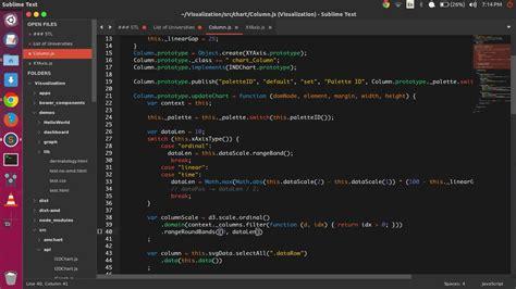 sublime text 3 themes ubuntu flatabulous best flat theme for ubuntu ubuntuhandbook