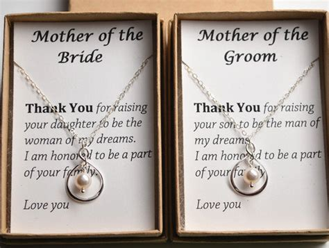thank you gifts for wedding helpers that are of the gift necklace wedding gift jewelry than