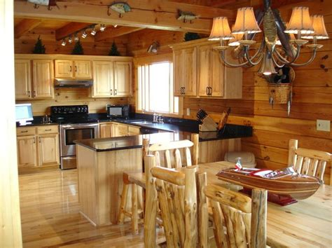 log cabin kitchen ideas pinterest
