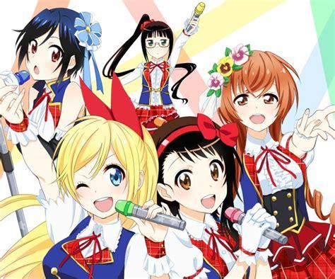 nisekoi anime 260 best nisekoi images on nisekoi anime