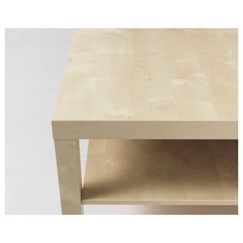 Ikea Birch Coffee Table Lack Coffee Table Birch Effect 118x78 Cm Ikea