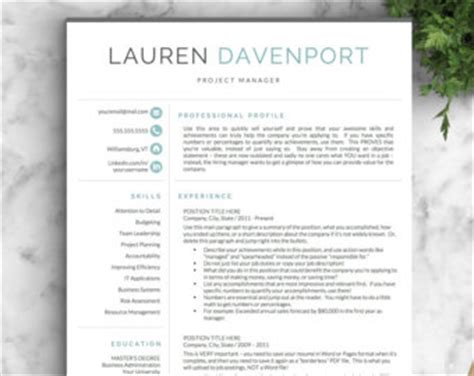 Cv Sjabloon Apple Professional Resume Templates Cv Templates By Landeddesignstudio