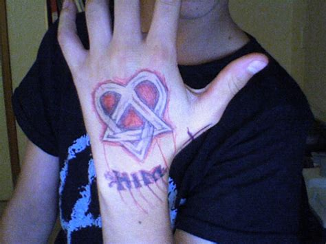 pen tattoo hand him tattoo on hand in pen by mattdiflorio on deviantart