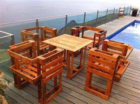 Pallet Table Ideas by 15 Unique Diy Wooden Pallet Table Ideas Pallets Designs