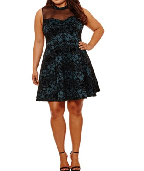 Little Black Dress Plus Size Juniors
