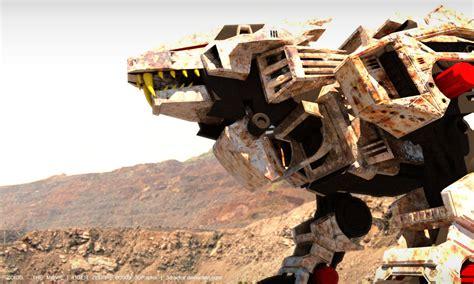 Film Zoid | zoids the movie liger zero 02 by 3draptor on deviantart