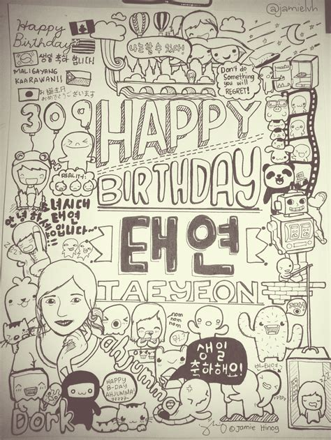 draw doodle for taeyeon doodle by iamsuperjamie on deviantart