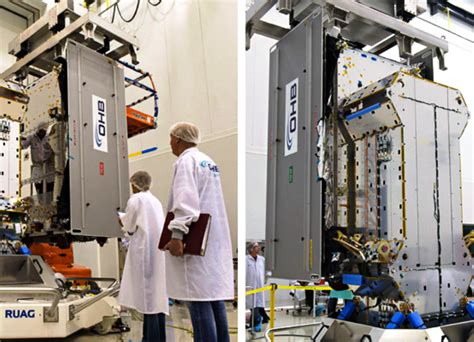 Esa Background Check Next Esa Galileo Satellites Undergo Fit Checks In Preparation For Late March Launch
