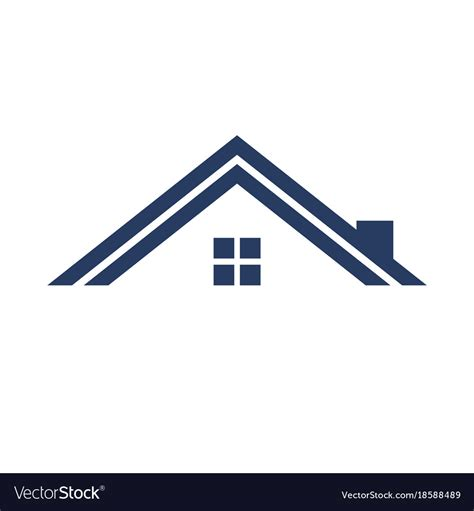 minimalist graphics minimalist roof simple graphic royalty free vector image