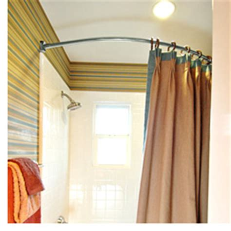 shower stall curtain rods 1000 images about bathroom ideas on pinterest
