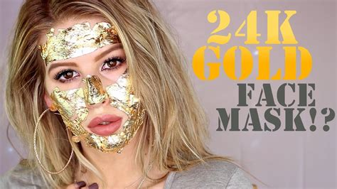 Mask Gold 24k diy 24k gold mask demo impressions